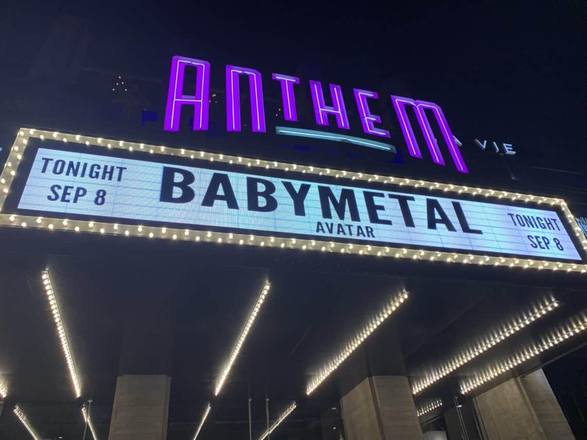 A last-minute concert!