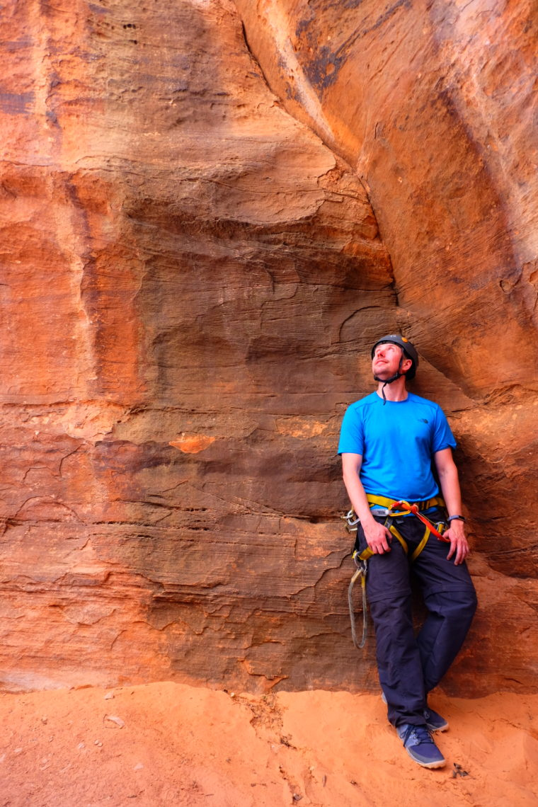 Canyoneering in Zion (with a guide so we didn