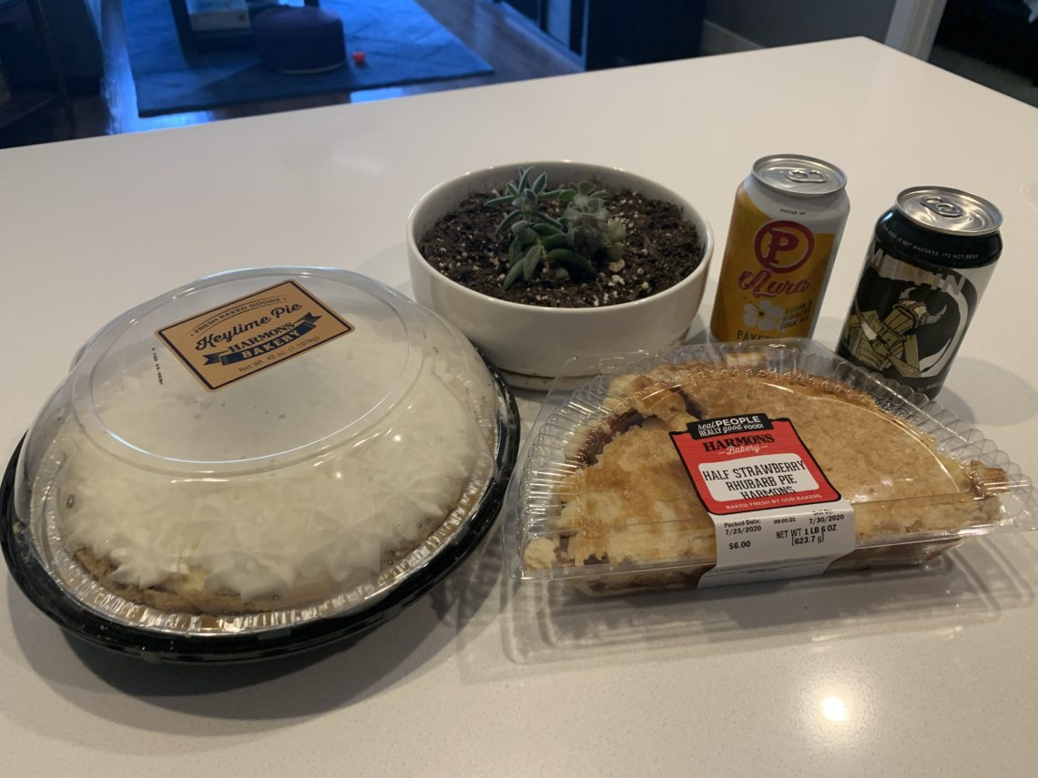 Pie and beer day