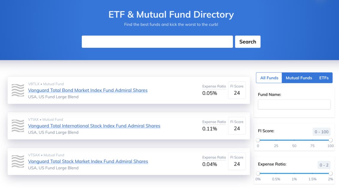 Minafi Fund Directory