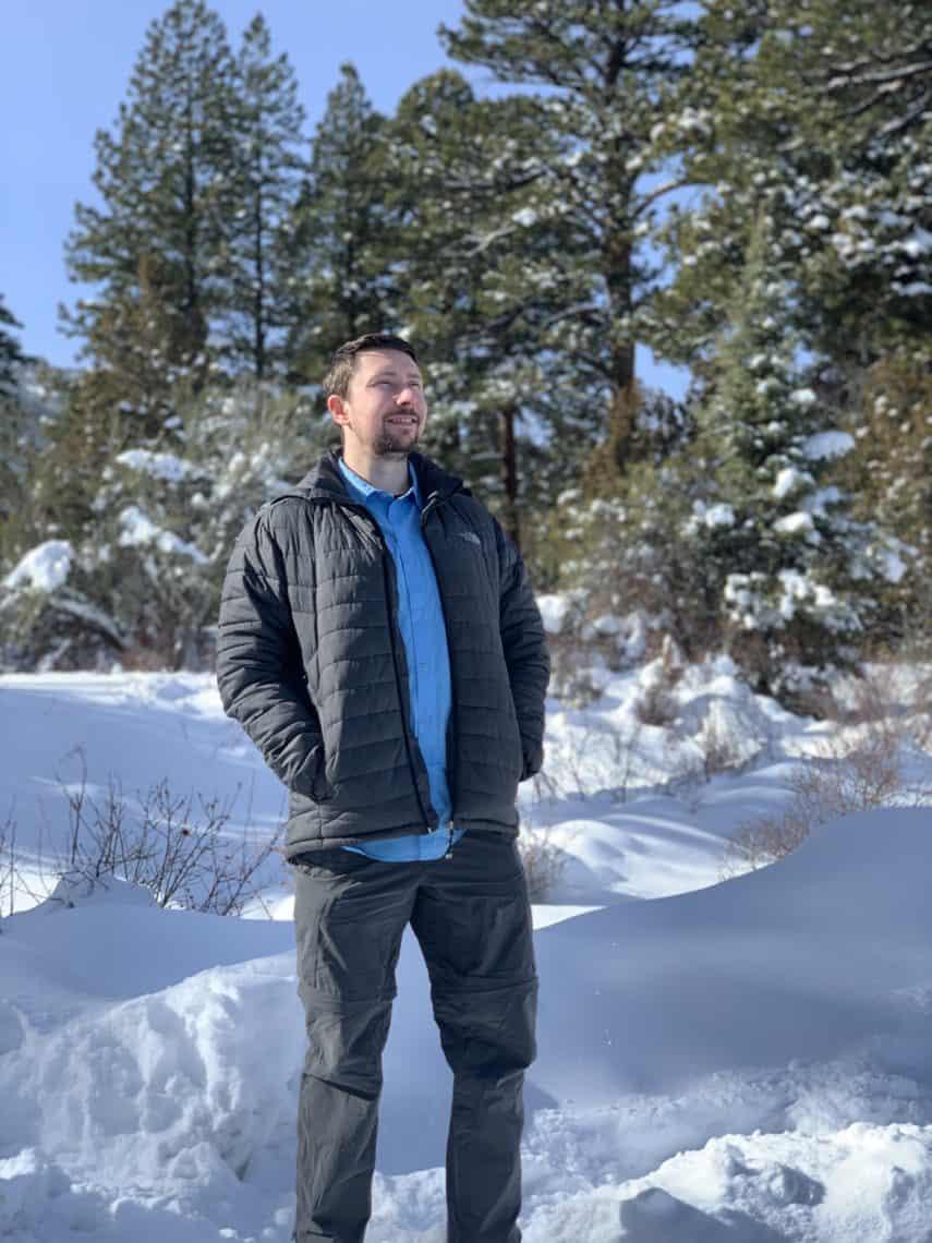 Adam at Grand Basin National Park